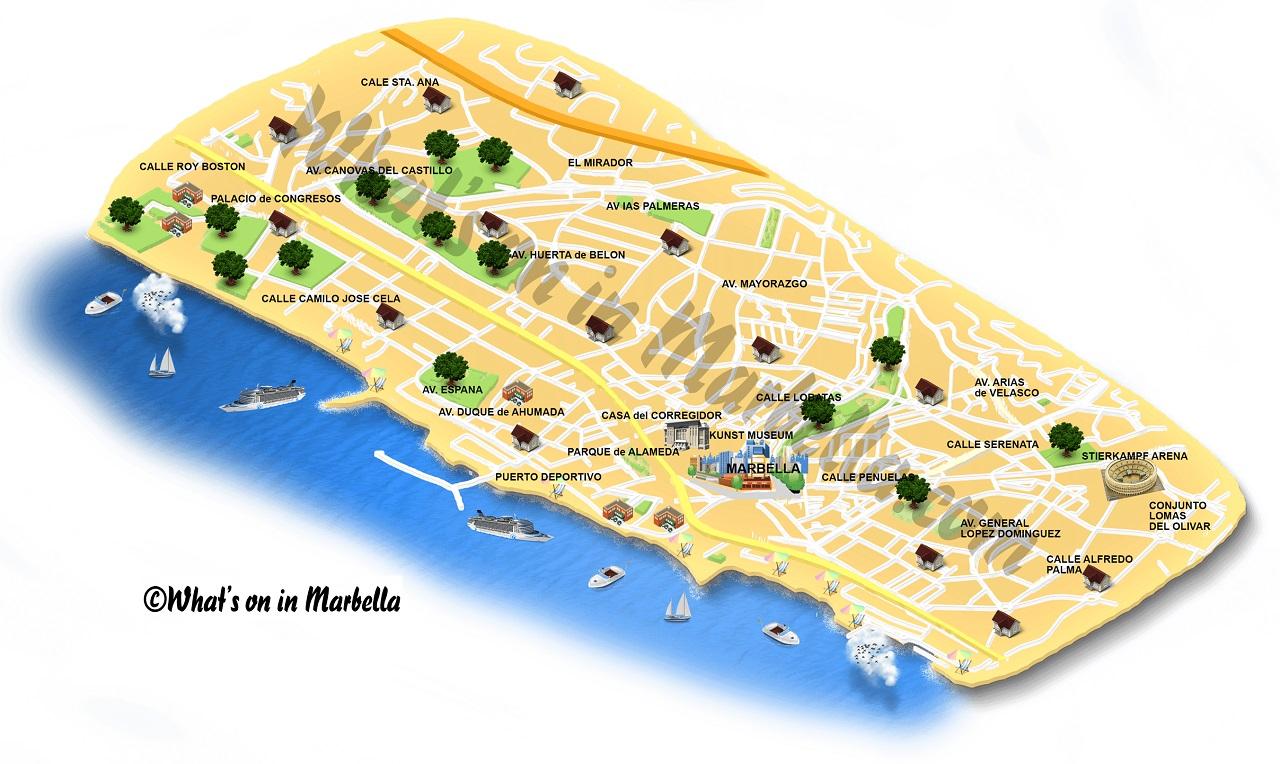 Marbella Map