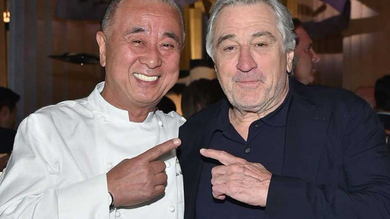 Robert De Niro gives Nobu Marbella official opening the Hollywood glitz